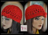 SOLD Red Hipster Hat