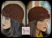 Chocolate Brown Hipster Hat