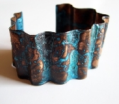 Patina Copper Cuff