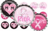 I Wear Pink Digital Bottle Cap Images 256