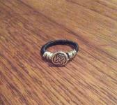 Double Wrapped Celtic Knot Ring