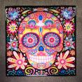 Day of the Dead Coaster Ceramic Tile