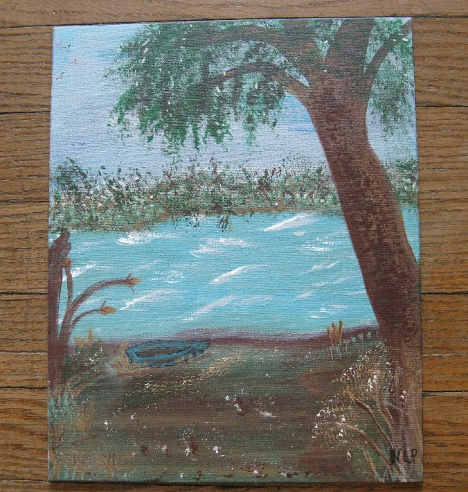 My Favorite Cove Rend Lake Painting