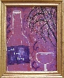 Willow Tree and Wine Original Painting