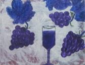 My Grape Nectar Original Painting