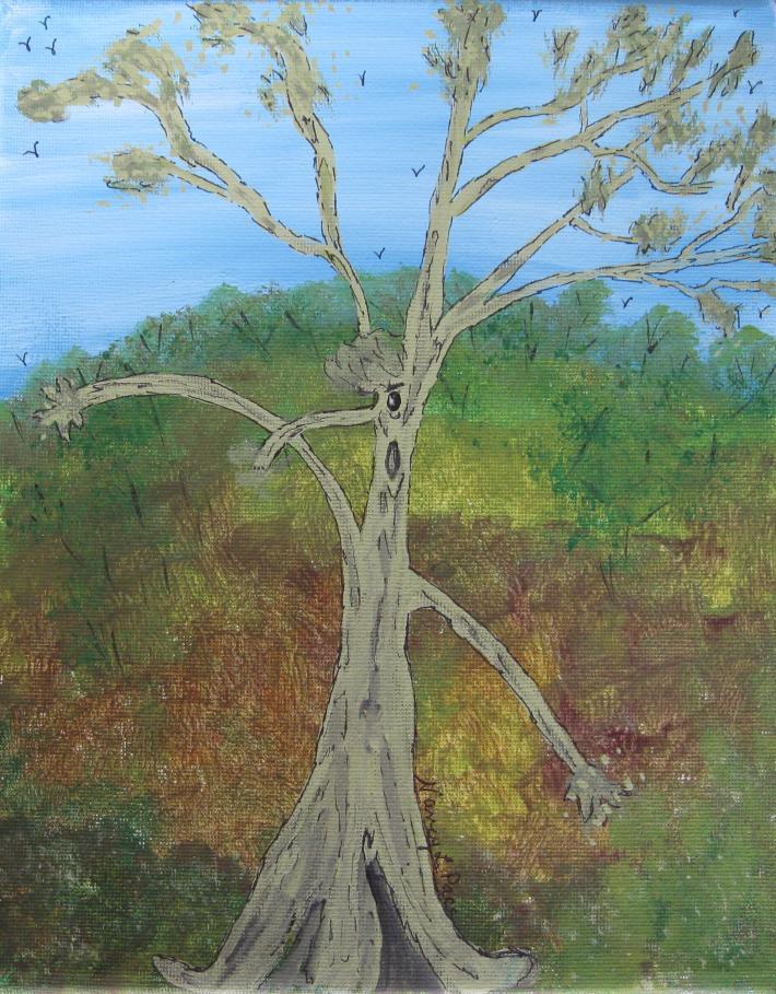 Dash the Running Tree Art Prints
