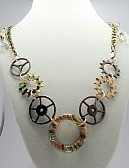 Gears and Glass Necklace