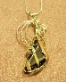 Kimbery Zebra Rock and silver necklace