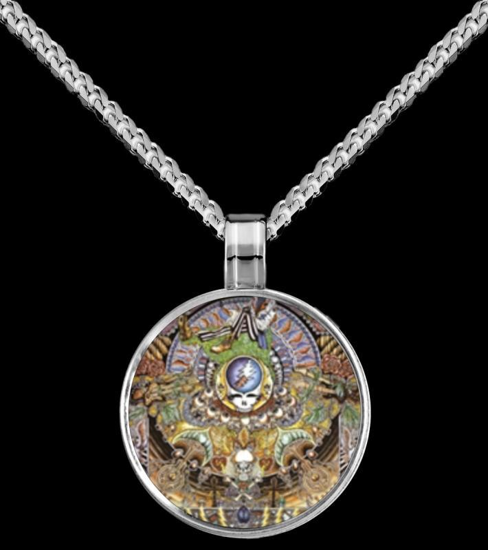 Grateful Dead Pendant Necklace