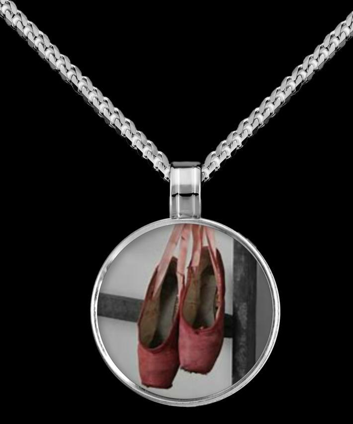 Ballet Pendant Necklace