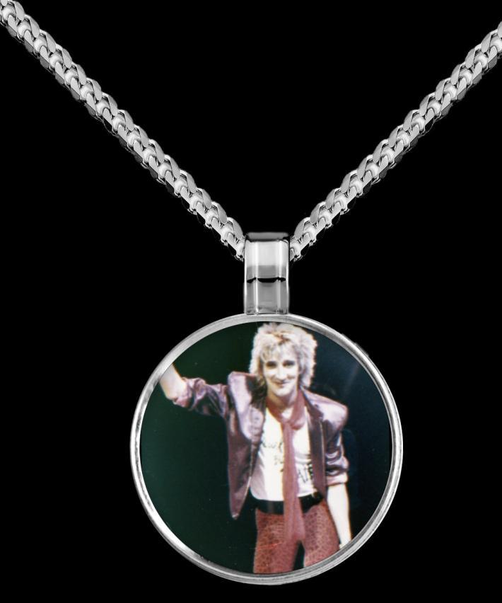Rod Stewart Pendant Necklace