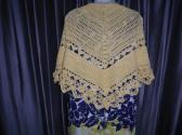 Yellow Cotton Shawl Made in America