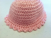 Pink Newborn Baby Beanie Hat with Free Shipping