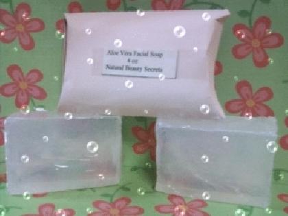 Aloe Facial Soap