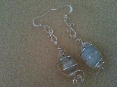 Caged Shell Earrings