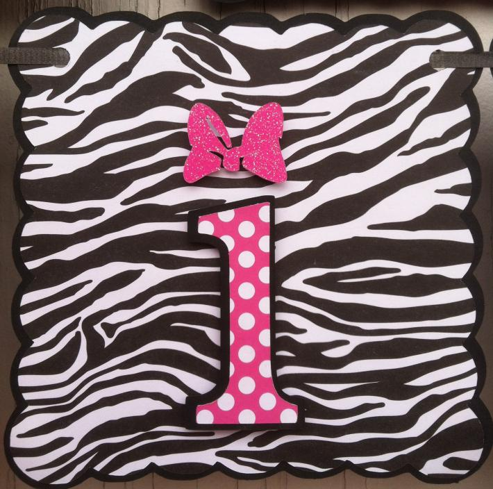 Hot Pink Minnie Mouse Birthday custom with childs name