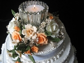 Cold Porcelain Floral Cake Topper