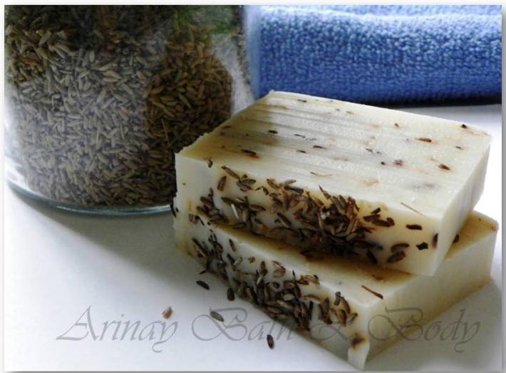 5 bars Handmade Natural Soap