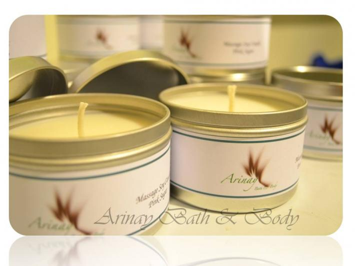 Massage Soy Candles
