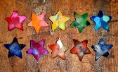 Mini Star Crayons Set of 10