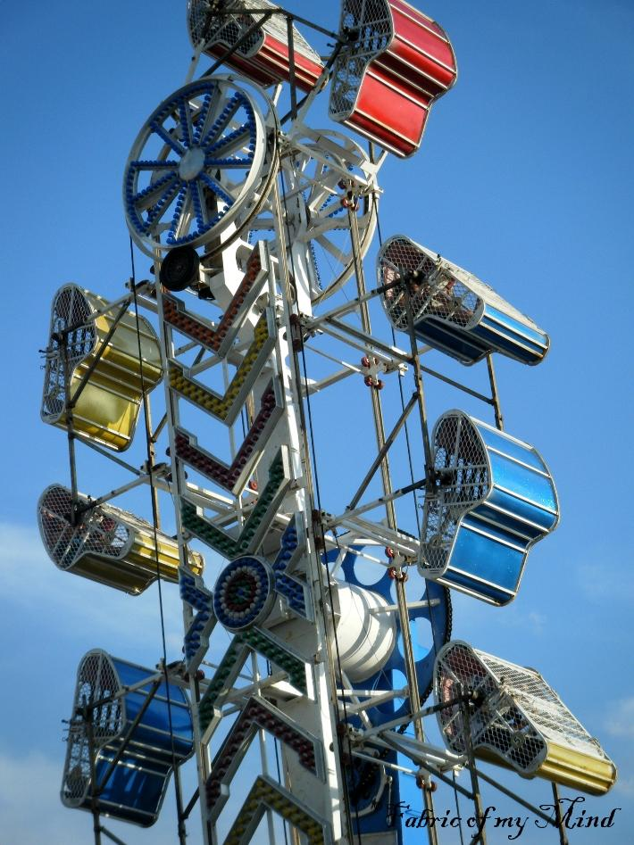 Carnival Zipper Ride at the Fair