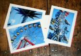 Carnival Stationery Note Cards Set of 3