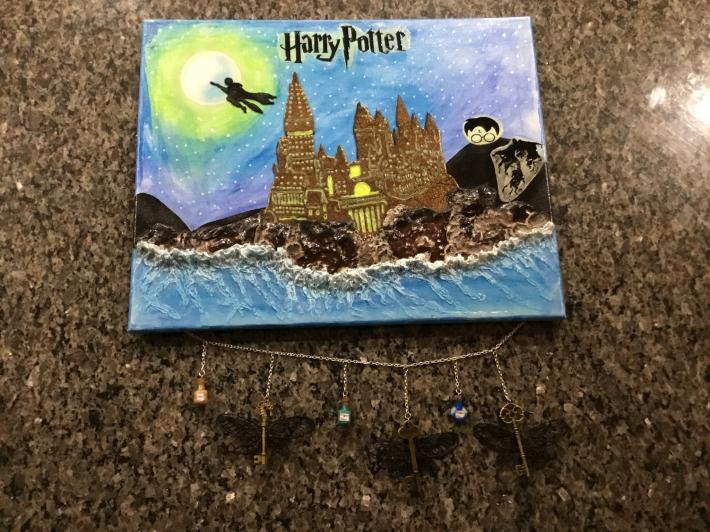Harry Potter Inspired Canvas