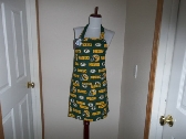 Full Apron Reversible Green Bay Packers Print Your Favorite NFL Team for Men or Women