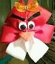 Angry Birds Hair Bow