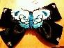 Sweet blue butterfly