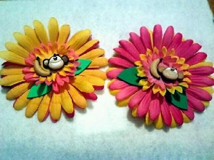 crazy flowered monkeys