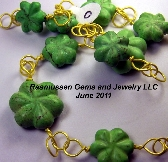 O Green Bead Necklace
