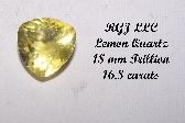 QTZ50 Faceted Lemon Quartz