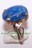 Lapis Lazuli Cabochon Sterling Silver Ring N