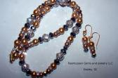 BLING Necklace and Earring Set 1079