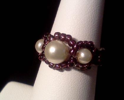 Pearl Bling Ring