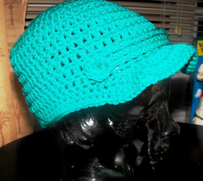 Crochet Brim Hat