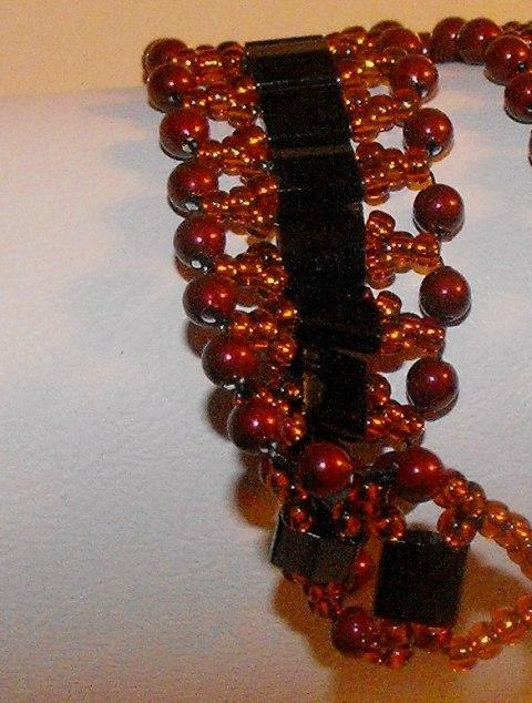 Ruby Red Swarovski Crystal Bracelet