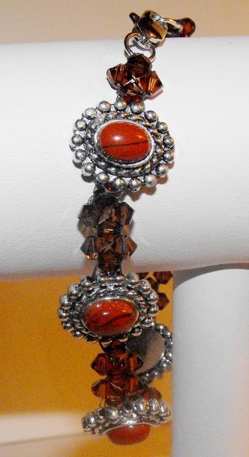 Silver and Topaz Bracelet