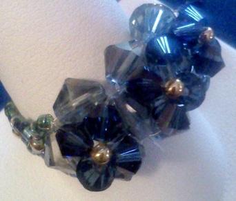 Montana Blue Swarvski Crystal Ring