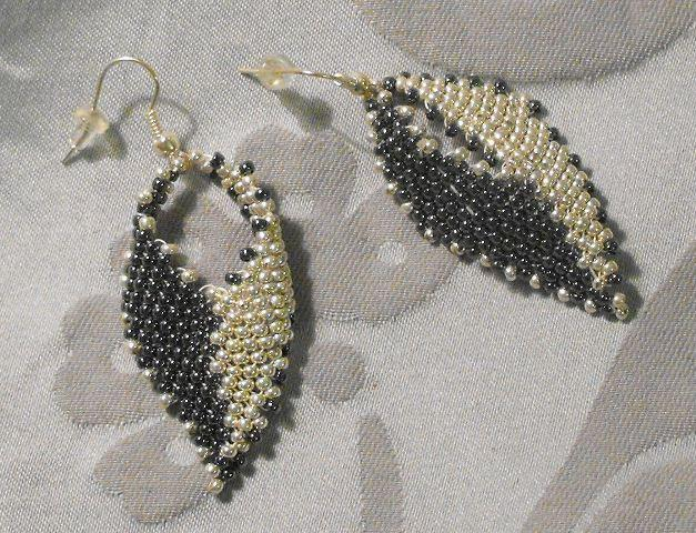 Russian Leaf Earrings