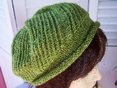 Hand Knitted Beret