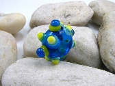 Handmade Lampwork Glass Bead Large Focal