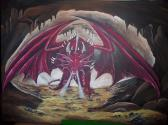 DRAGON CANVAS PAINTINGS