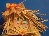 WOODEN SCARECROW DECOR