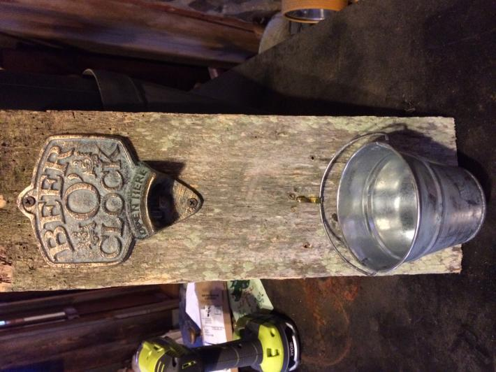 Rustic Bottle Opener