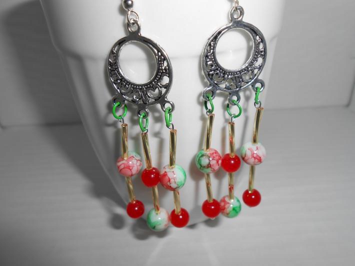 Fruit Punch Chandelier Earrings