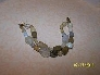 Double strand glass bead bracelet