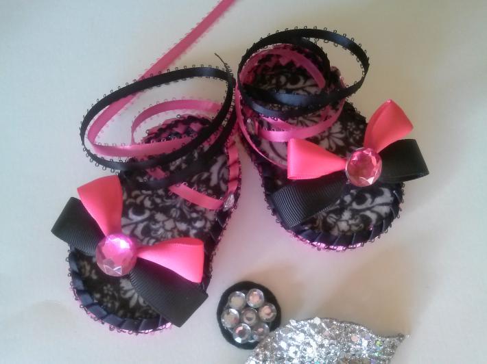 Ballerina Style Baby Sandals