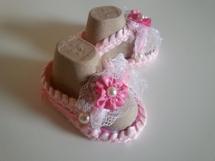 Handmade Ribbon Sandals